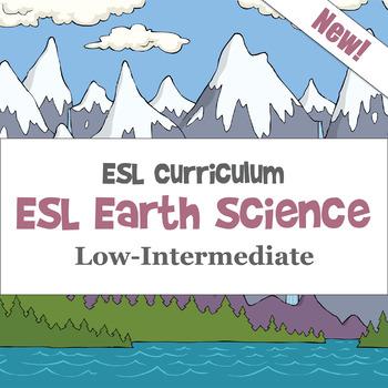 ESL Earth Science Pack -- Low-Intermediate