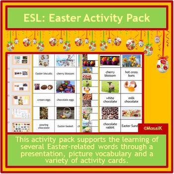 ESL: Easter Activities in English