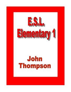 E.S.L. Elementary 1 (Partial)