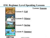 ESL Elementary Lessons: The Four Seasons
