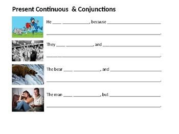 ESL Beginner/ Elementary: Present Continuous