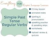 ESL Beginner/ Elementary: Simple Past Regular Verbs