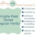 ESL Elementary: Simple Past Regular