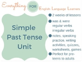 ESL Beginner/ Elementary: Simple Past Tense Unit