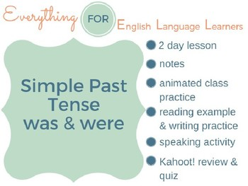 ESL Elementary: Was/Were