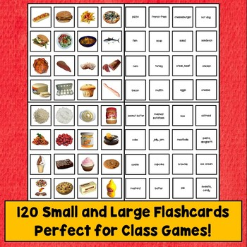 ESL Food Flashcards and Games