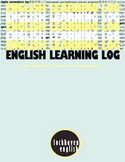 ESL English Product - Learning Log & Journal