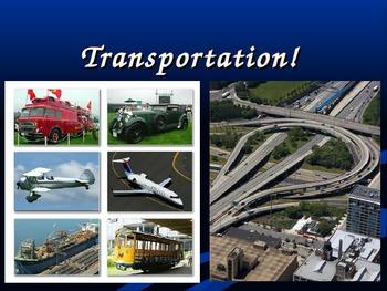 ESL / English - Transportation game