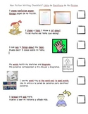 ESL English/Spanish Informational Writing Checklist