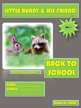 Beginner English - LITTLE BUNNY&HIS FRIEND VOL.1 + BUSY HANDS VOL.2