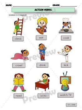 ESL Vocabulary