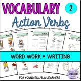 Action Verbs, Colors and Likes/Dislikes Vocabulary Activit