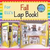 ESL Fall Vocabulary Lap Book for Kindergarten, First Grade