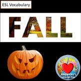 ESL Fall Vocabulary Practice