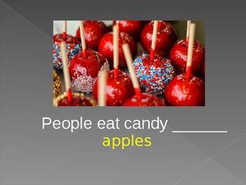 ESL Fall Vocabulary Practice PowerPoint
