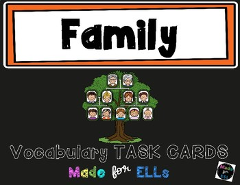 ESL Family Task Cards