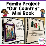 ESL Family mini book Project! Parent Letter in English AND