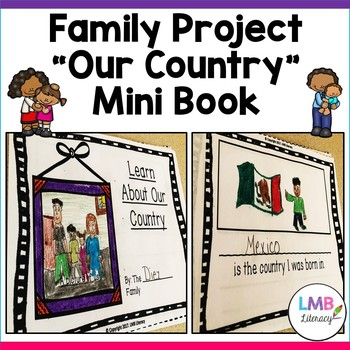 ESL Family mini book Project! Parent Letter in English AND Spanish!