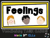 ESL Feelings Task Cards