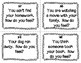 ESL Feelings Task Cards