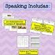 ESL Fifth Grade Progress Monitoring, BUNDLE (Reading Writing Listening Speaking)