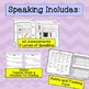 ESL First Grade Progress Monitoring, BUNDLE (Reading Writing Listening Speaking)