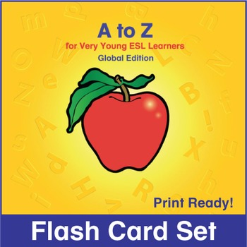 ESL Flash Cards-A to Z