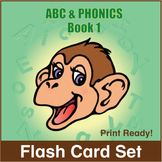 ESL Flash Cards-ABC & Phonics, Book 1