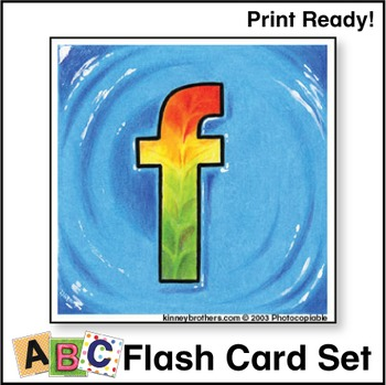 ESL Flash Cards-ABCs 1