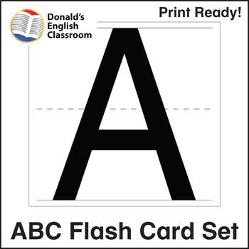 ESL Flash Cards-ABCs 2