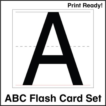ESL Flash Cards - ABCs
