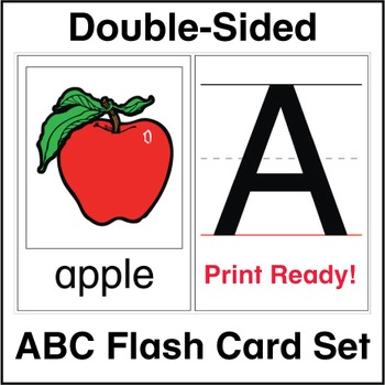 ESL Flash Cards-ABCs & Phonics-4