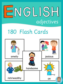 ESL Flash Cards  Adjectives