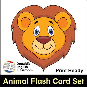 ESL Flash Cards-Animals