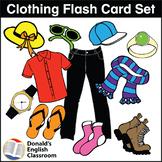 Clothing Flash Cards