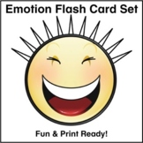 ESL Flash Cards-Emotions 2