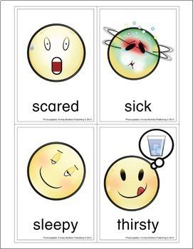 ESL Flash Cards-Emotions 2