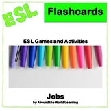 ESL Flash Cards - English/Spanish - Jobs