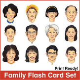 ESL Flash Cards-Family