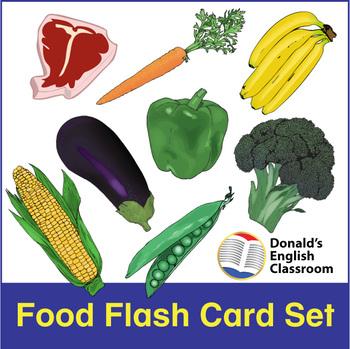 ESL Flash Cards-Food and Drink