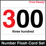 ESL Flash Cards-Numbers