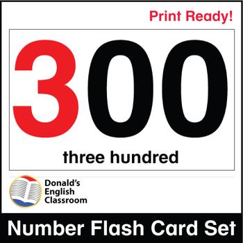 ESL Flash Cards-Numbers