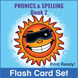 Phonics and Spelling Book 2 Flash Cards
