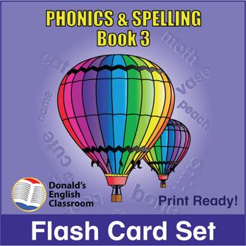 ESL Flash Cards-Phonics & Spelling, Book 3