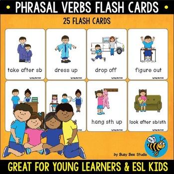 ESL Flash Cards | Phrasal Verbs