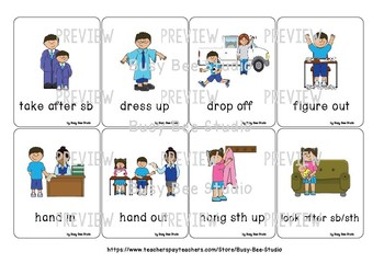 ESL Flash Cards   Phrasal Verbs