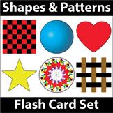 ESL Flash Cards-Shapes & Patterns