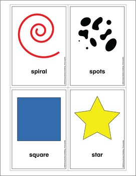 Shapes & Pattern Flash Cards