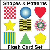 ESL Flash Cards-Shapes & Patterns
