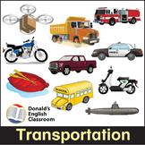 Transportation Flash Cards